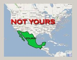 MAP US NOT YOURS