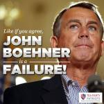 Boehner is a failure