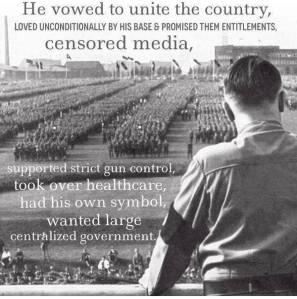 Hitler-Obama comparison