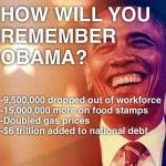 How will you remember obama
