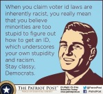 Voter ID Dems elitism