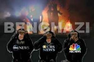 Benghazi Hear no evil see no evil speak no evil media