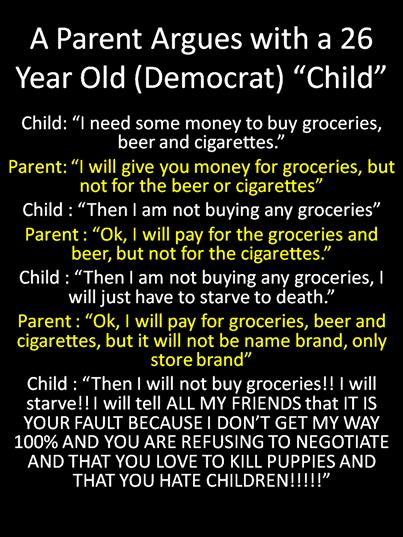 Dem Rep Argument for a child