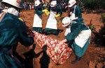Ebola Burying Dead Victims