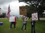 Grand Island, NE protest