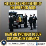 Hillary has more security than benghazi