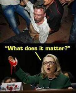 Hillary What does it matter photo of Stephens beaten