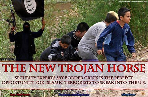 Islamist Terrorists sneak in Southern Border