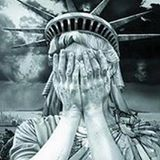 Liberty Eyes Covered with hands