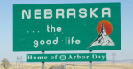 Sign Nebraska the good life