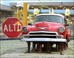 Boarder Patrol Illegals under Chevrolet at Boarder Crossing