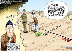 veteran crosses border to get seen by doctor
