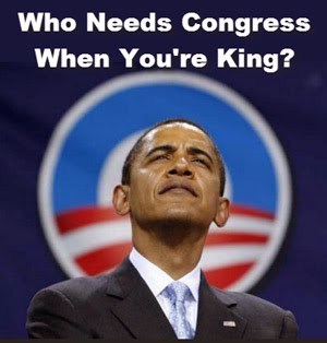 Who needs Congress when you're King