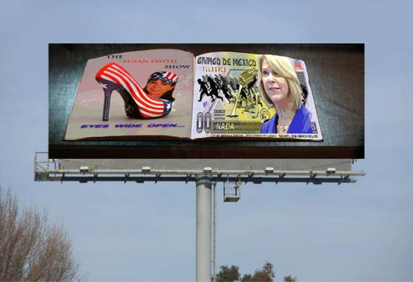 Susan Smith Show-Gringo Stothert billboard