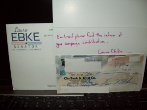 Ebke return check donation 002