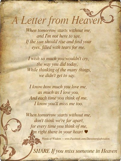 A Letter From Heaven