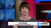 Liz Mair MSNBC logo in background