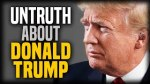 Untruth about Donald Trump